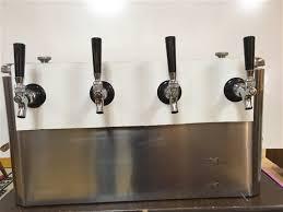 jockey box rental box 4 tap stainless steel rental