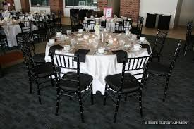 black chiavari chairs chester 6 28 14 colonnades club elite entertainment
