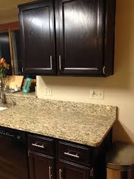 Restaining Kitchen Cabinets Darker Kitchen Cabinet Gold Confetti