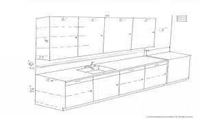 kitchen cabinet depth kitchen cabinet dimensions standard drawing