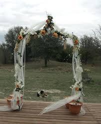garden arch decorating ideas wedding decoration tulle u2013 drone fly