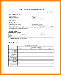 project monthly status report template 10 project monthly status report template format of notice