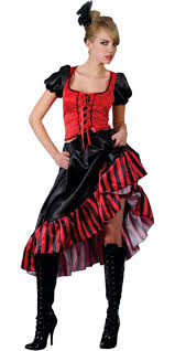 red can can saloon costume tv book and film costumes