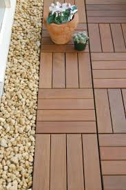 Patio Interlocking Tiles by 9 Best Some Novel Ideas For Landscaping With Interlocking Deck