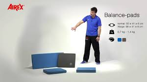 airex presents use and advantages of airex balance pads youtube