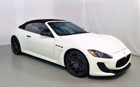 maserati grancabrio black 2013 maserati granturismo mc convertible sport for sale in norwell
