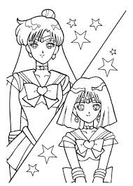 130 sailor moon coloring book images coloring