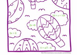 5th grade algebra u0026 functions worksheets u0026 free printables