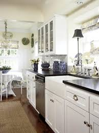 wonderful sunny kitchen decorating ideas with wooden floor and