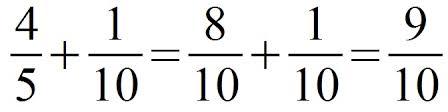 brüche addieren und subtrahieren übungen mathematik aufgaben bruchrechnen