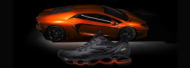 lamborghini x mizuno sneakers are street racers for your feet