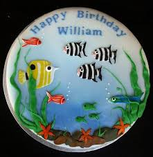 fish birthday cakes tropical fish birthday cake a birthday cake