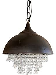 Oyster Chandelier Amazon Com Creative Co Op Oyster Shell Chandelier 17 5