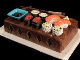 sushi birthday cake youtube
