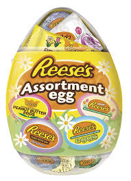 reese easter egg reese s easter plastic egg assortment 5 ounce