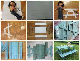 10 how to make a doll u0027s picnic table i learned how to ma u2026 flickr