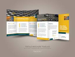 brochure 3 fold template psd 3 fold brochure template psd free best and professional