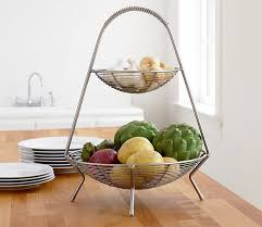 modern fruit basket cool kitchen storage ideas
