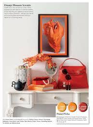 orange interiors by color 52 interior decorating ideas
