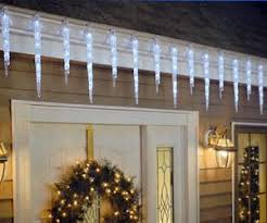 led icicle christmas lights outdoor 17 best icicle lights images on pinterest christmas deco