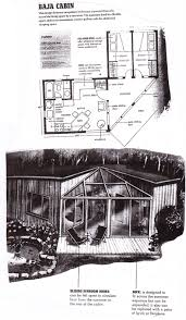 baja cabin floorplan from u0027compact cabins simple living in 1000