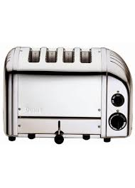 Dualit Stainless Steel Toaster Dualit 4 Slice Slot Classic Vario Aws Toaster 40378 Polished