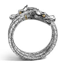dragon bracelet silver images John hardy naga two tone double coil dragon bracelet jpg