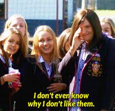 School Girl Meme - television chris lilley gif find download on gifer