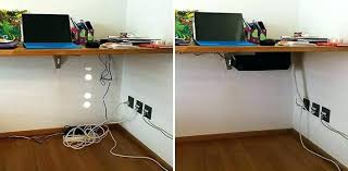 Computer Desk Cord Management Home Office Cable Management Masters Mind