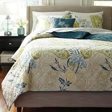 paislette quilt teal bedding set bedding sets bedding bedroom