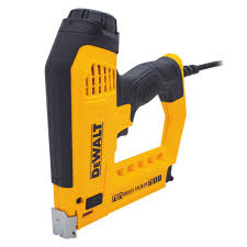 Electric Staple Gun For Upholstery Dewalt 5 In 1 Multi Tacker And Brad Nailer Dwht75021 The Home Depot