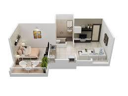 home design 3d premium 3d home design plan 1bhk house kompan home design