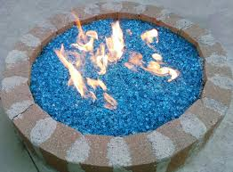 Firepit Glass Bahama Blue Pit Glass Pit Glass