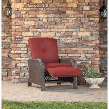 strathmere luxury recliner in crimson red strathrecred
