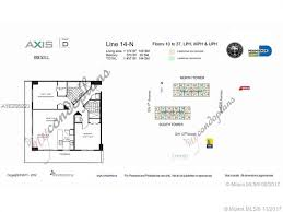 axis brickell floor plans the axis 2714 n for sale zilbert com at brown harris stevens