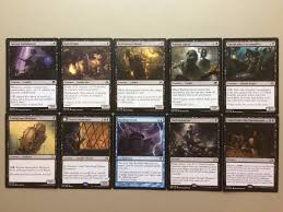 blue black gisa and geralf commander deck zombies madness magic