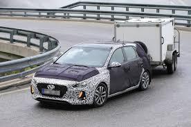 2017 hyundai i30 spotted testing autocar