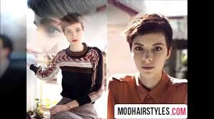 pixie haircut for round face shape youtube