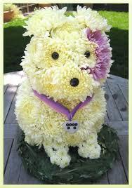 Dog Flower Arrangement 153 Best Dog And Animal Flower Arrangements Images On Pinterest