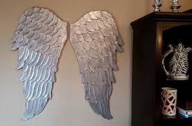angel decorations for home exclusive ideas wooden angel wings wall decor at home and interior