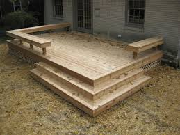 designs for simple wooden decks in decking is still a good old