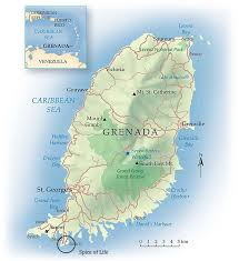 grenada location on world map location spice of