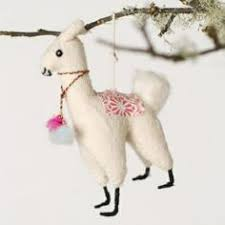 llama ornaments because why not these adorable ornaments come in