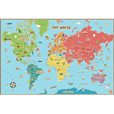 world map with country names contemporary wall decal sticker wall pops wpe0624 world erase map decal wall