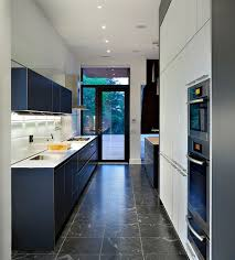 Canadian House Astounding Formal Beauteous Luxurious Navy Kitchen Cabinet And