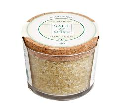 sel de cuisine salt more fleur de sel with garlic