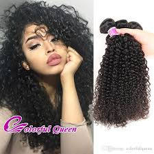 crochet hairstyles human hair malaysian hair 4 bundles afro kinky curly 7a unprocessed kinky curly
