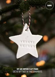 how to make stylish clay ornaments air drying clay