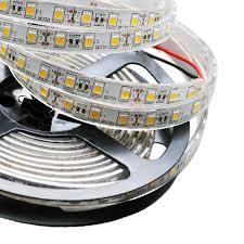 outdoor led strip lights waterproof single row series dc12 24v 5050smd 300leds flexible led strip lights