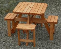 Free Octagon Picnic Table Plans And Drawings by Exteriors Picnic Table And Chairs Suitcase Picnic Table Picnic